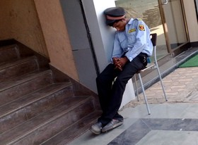 """Featured image for """"Security professional or just a labourer in a security guard's uniform?"""""""